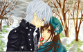 """Love Lost In The Snow"" - vampire-knight wallpaper"