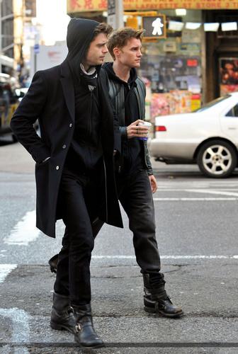 Toby Hemingway & Sebastian Stan