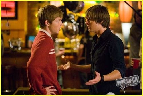 Sterling Knight wallpaper probably containing a brasserie and a portrait called 17 Again Promos