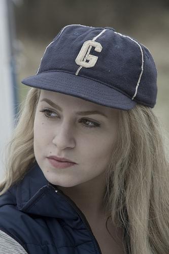 Baseball scene Rosalie
