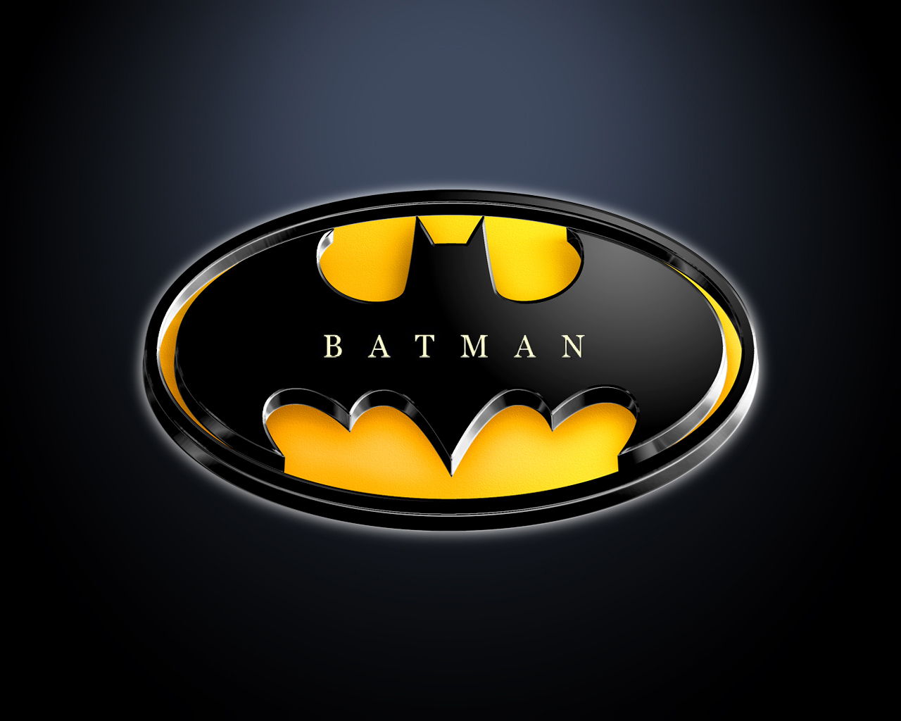 Batman Logo - Batman Wallpaper (9683803) - Fanpop fanclubs