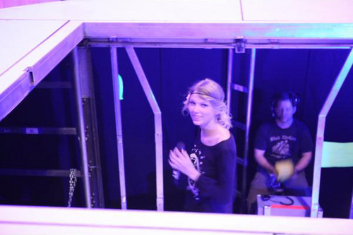 Behind the Scenes of the Fearless Tour