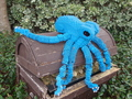 Blue Octopus - lego photo