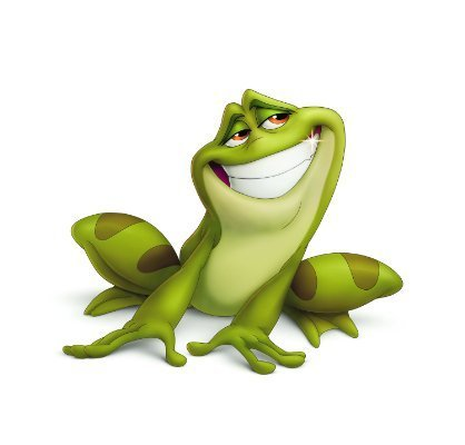 Prince Naveen wallpaper titled Charming even as a  frog!