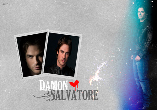 Damon Salvatore 壁纸 1