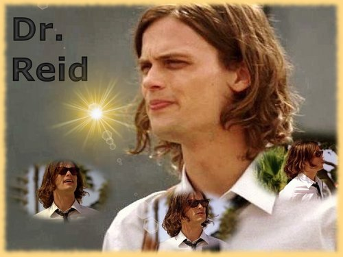 Dr. Spencer Reid wallpaper with a portrait entitled Dr. Reid