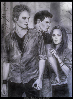 new moon drawing