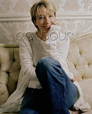Emma Thompson wallpaper probably with a drawing room, a living room, and a bathrobe titled Emma - February, 2009