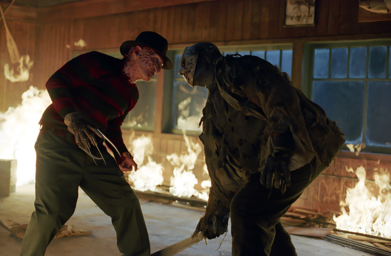 Horror movies freddy vs jason