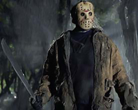 Horror films achtergrond entitled Freddy VS Jason