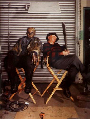 Films Dhorreur Fond Decran Containing A Living Room Entitled Freddy VS Jason