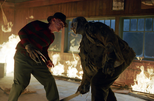 영화 바탕화면 titled Freddy VS Jason