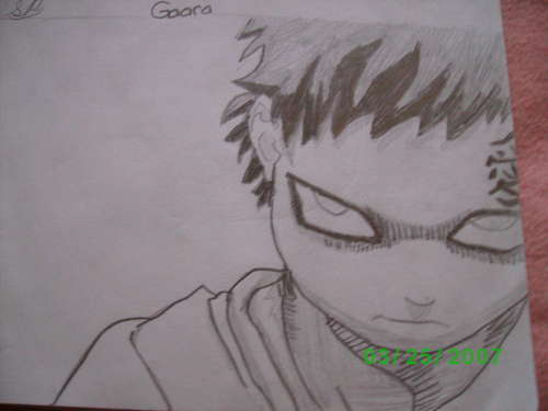 Gaara- my drawing