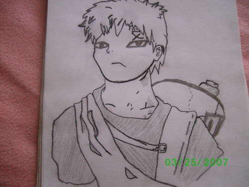 Gaara- my drawing