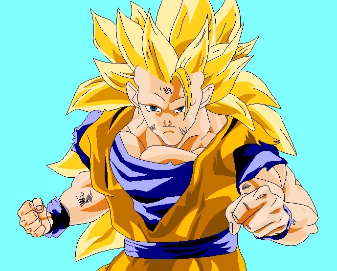 dragon ball pictures of goku. Goku SSJ3 - Dragon Ball Z Fan