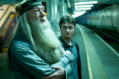 Harry and Dumbledore - HBP
