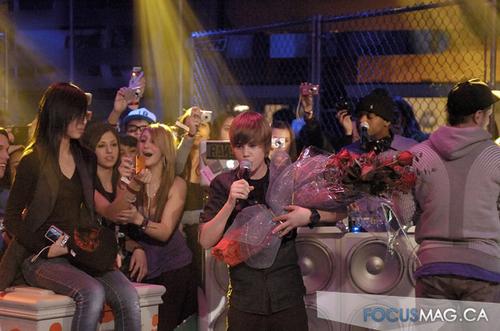 JB at Much Muzik