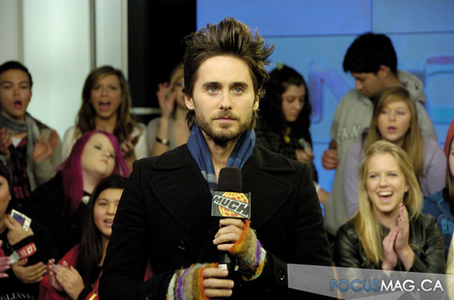 Jared Leto at Much Musica