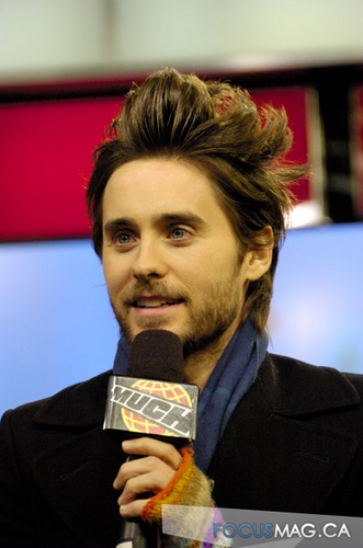 Jared Leto at Much 音乐