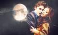 Jim and Kaley as Bella and Edward