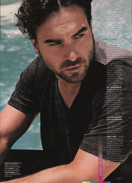 Johnny on Maxim Magazine