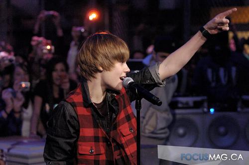 Justin Bieber at Much âm nhạc