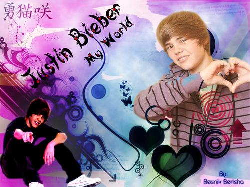 Justin Bieber design(by: Besnik Berisha)