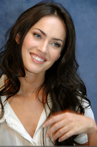 Masquerade wallpaper with a portrait titled Megan Fox