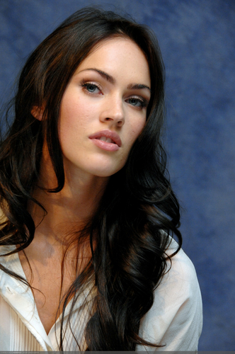 Masquerade wallpaper containing a portrait titled Megan Fox