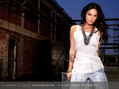 Masquerade wallpaper possibly containing a street and a top called Megan Fox