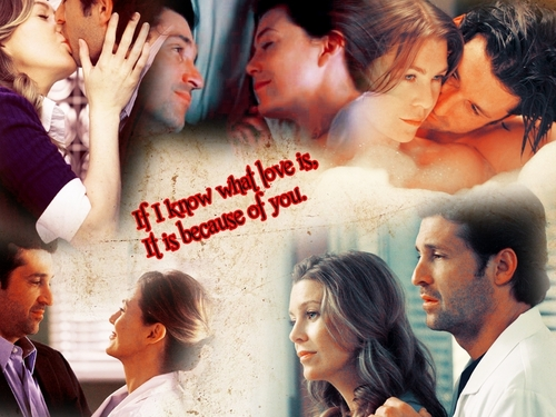 Meredith and Derek ウォール