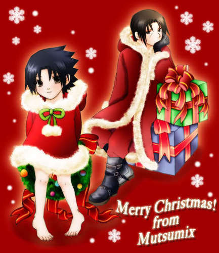 Merry krisimasi from Uchiha Brothers