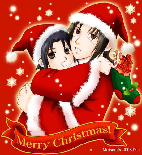Merry giáng sinh from Uchiha Brothers