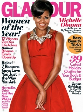 Michelle Obama On The Cover of GLAMOUR Magazine