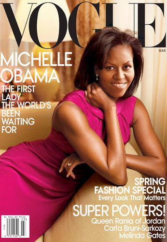 Michelle Obama On The Cover of VOGUE