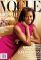 Michelle Obama On The Cover of VOGUE  - girl-power photo
