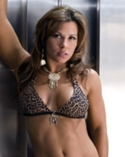Mickie James 바탕화면 possibly containing a bikini and attractiveness entitled Mickie James