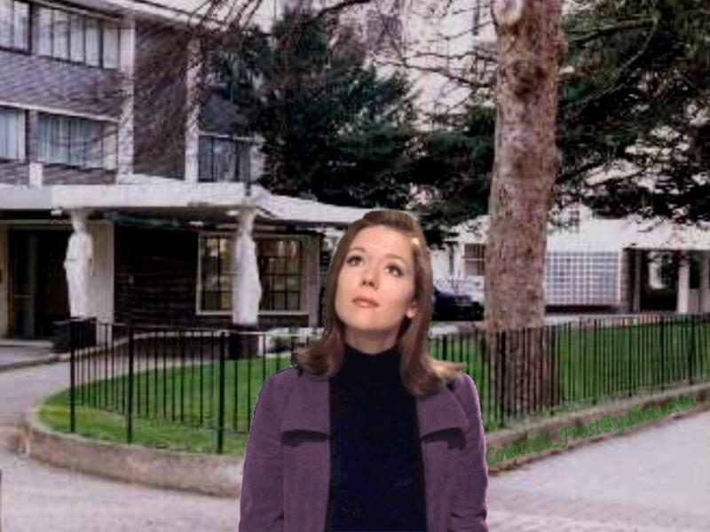 Outside of Emma's flat (1)