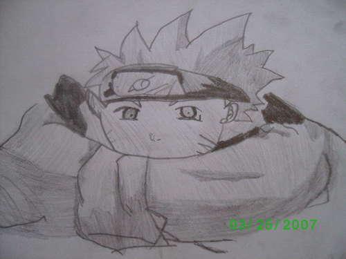 Naruto- my drawing