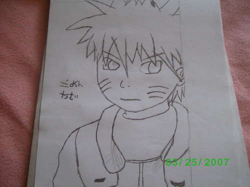 Naruto- my drawing