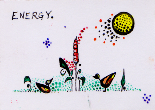 Natalya Sketch Card