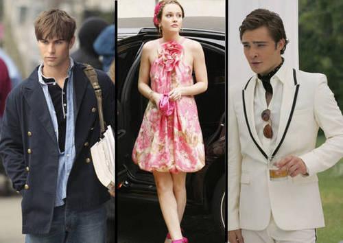 Nate, Blair, Chuck
