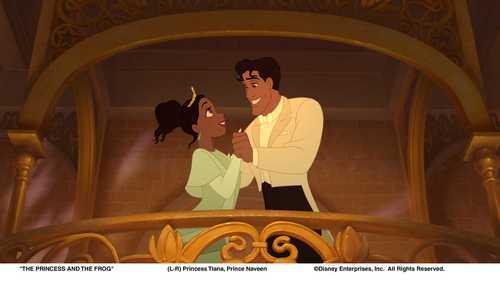 Naveen and Tiana