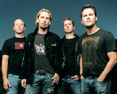 Music wallpaper containing a jersey titled Nickelback