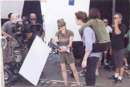 Old Rob, Kristen and Catherine Picture From The Twilight Set