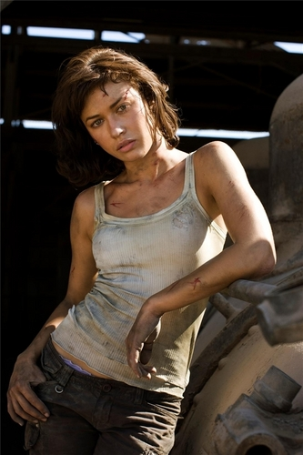 Olga Kurylenko | Quantum of Solace Production fotos