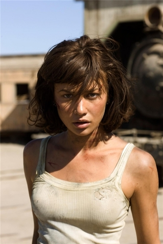 Olga Kurylenko | Quantum of Solace Production ছবি