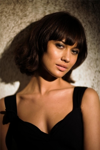 Olga Kurylenko | Quantum of Solace Production चित्रो