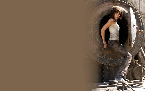 Olga Kurylenko 'Quantum of Solace' Widescreen 바탕화면