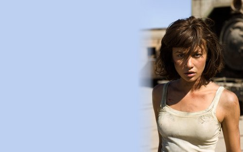 Olga Kurylenko 'Quantum of Solace' Widescreen 壁纸